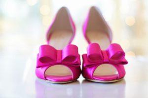 różowe buty czółenka