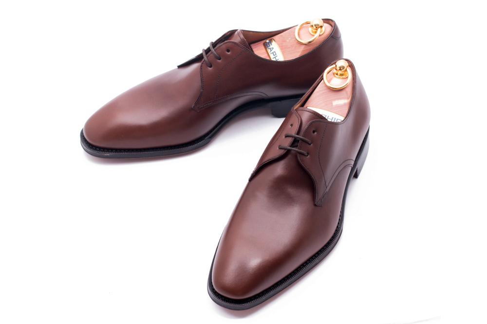 buty derby skórzane