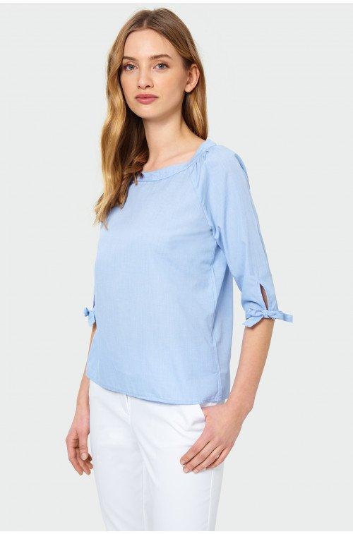 elegancka bluzka z rękawami