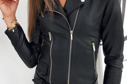 kurtka damska ramoneska - nowoczesny model